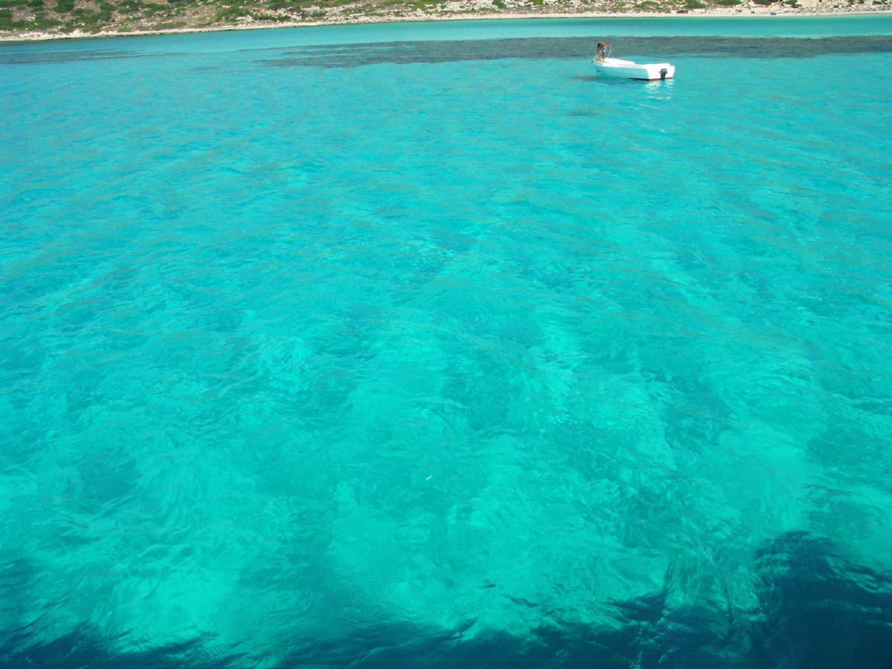 elafonisi lagoon crete greece
