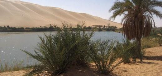 Озеро Габерон, Ливия