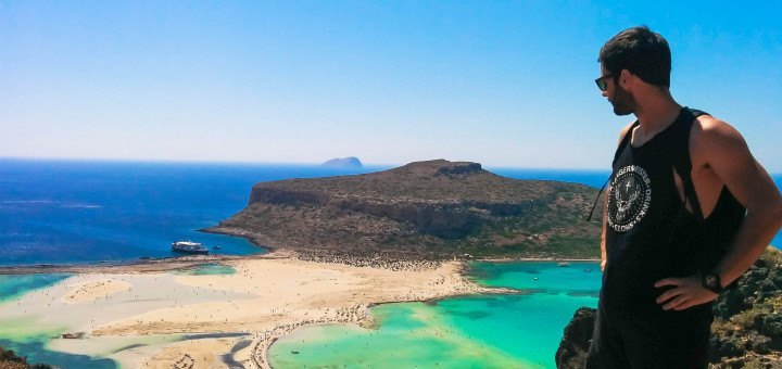 Пляж Балос на Крите