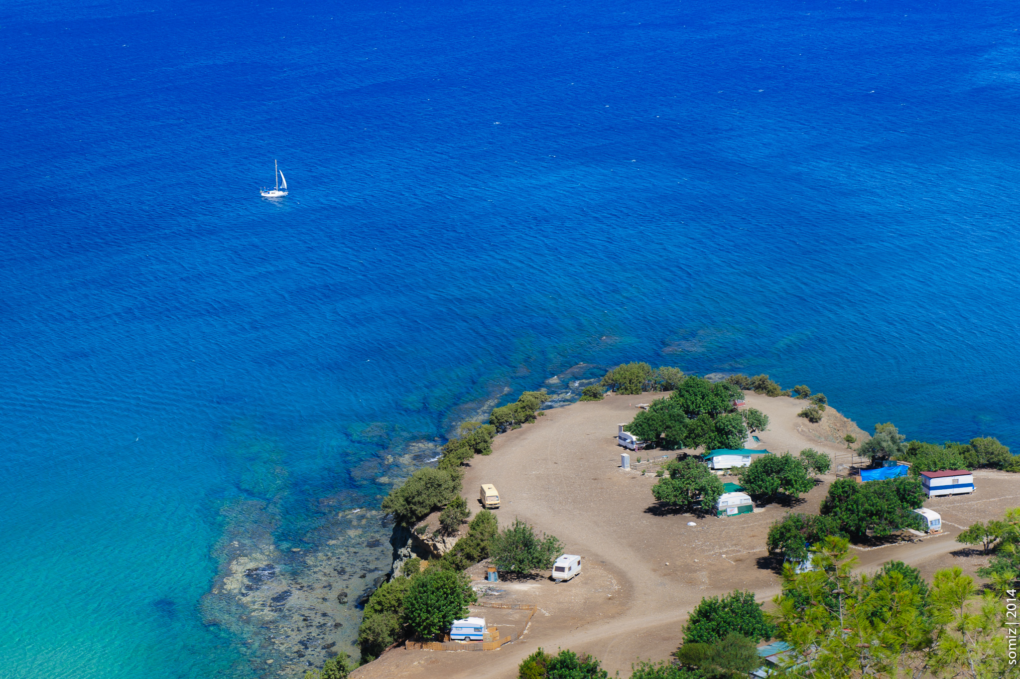 Бухта Афродиты на Кипре