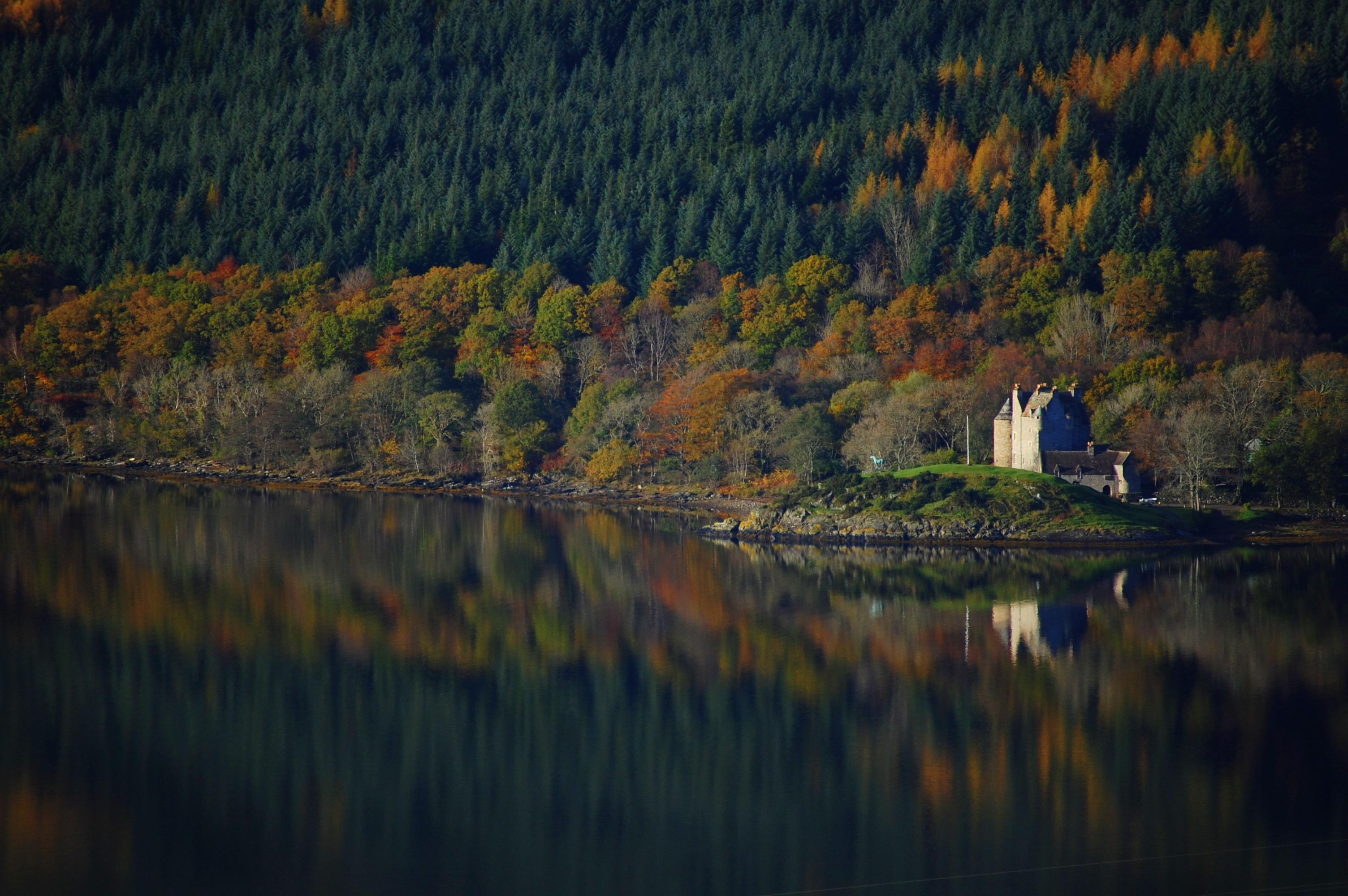 красивая шотландия