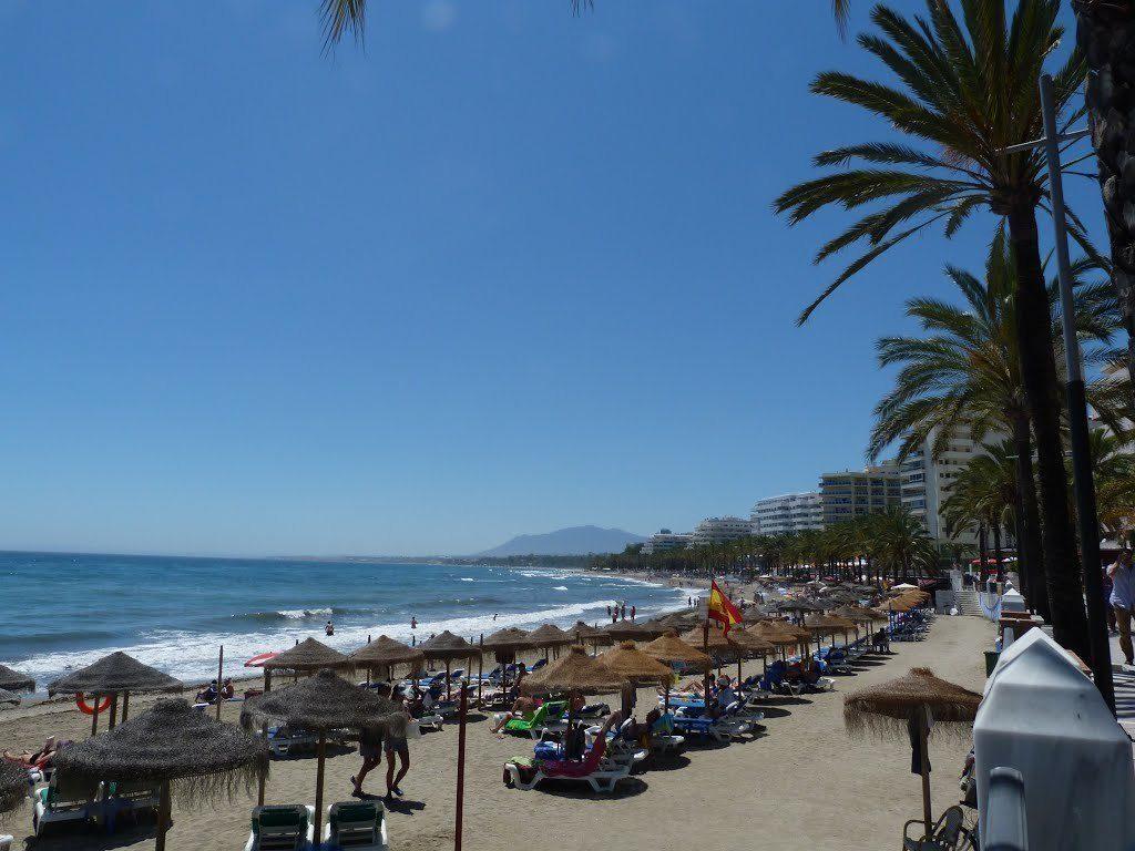 пляж марбелья испания